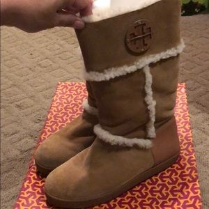 "Tory Burch Amelie ""ugg"" boots"